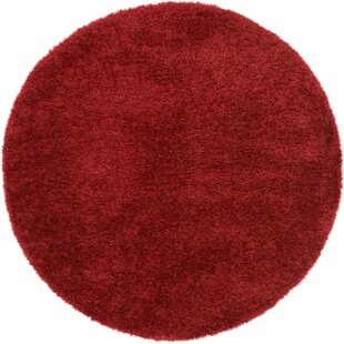 Evelyn Red Area Rug by Viv + Rae