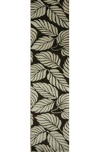 Bovill Oriental Hand-Tufted Wool Black/Beige Area Rug ByCanora Grey