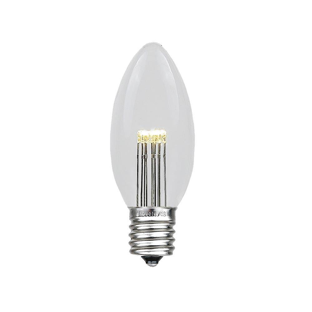 Novelty Lights 25 Watt Equivalent C9 Led Non Dimmable Light Bulb E17 Intermediate Base Wayfair