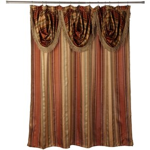 Contempo Spice Single Shower Curtain