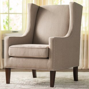 Chagnon Wingback Chair by Charlton Home