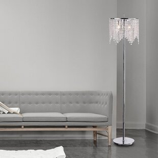 Inexpensive Clemence 65 Floor Lamp By House of Hampton