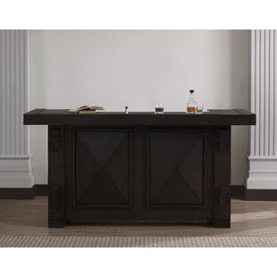 Bumpy Home Bar with Wine Storage by Darby Home Co