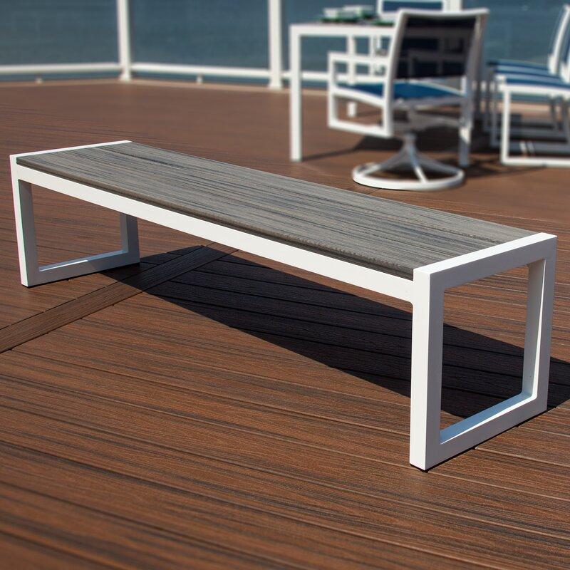 Parsons Aluminum Garden Bench Amp Reviews Allmodern