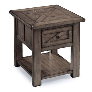 Great Price Roopville End Table by Three Posts