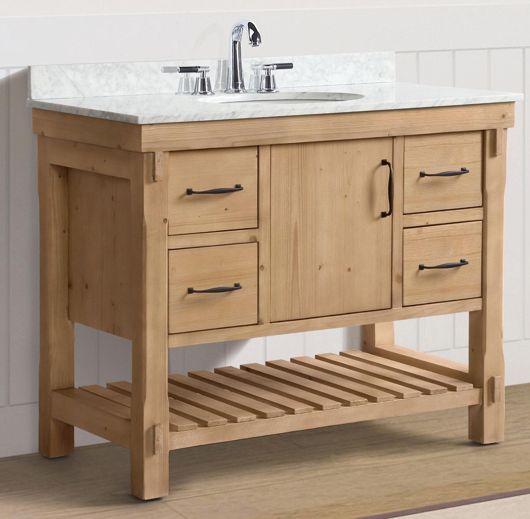 Walbridge 42 Single Bathroom Vanity Set Reviews Birch Lane