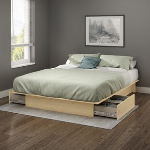 Step One Storage Platform Bed by South Shore Best Design