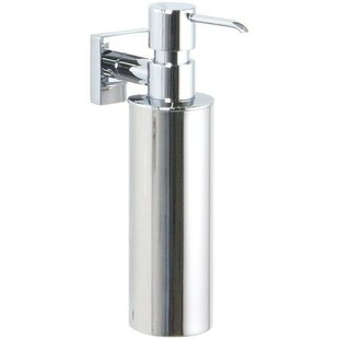 Orren Ellis Soriano Wall Mounted Soap & Lotion Dispenser
