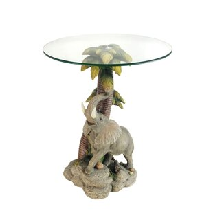 Read Reviews Mekhi End Table by World Menagerie