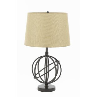 Lowenstein Metal Orbit Globe Accent 26 Table Lamp