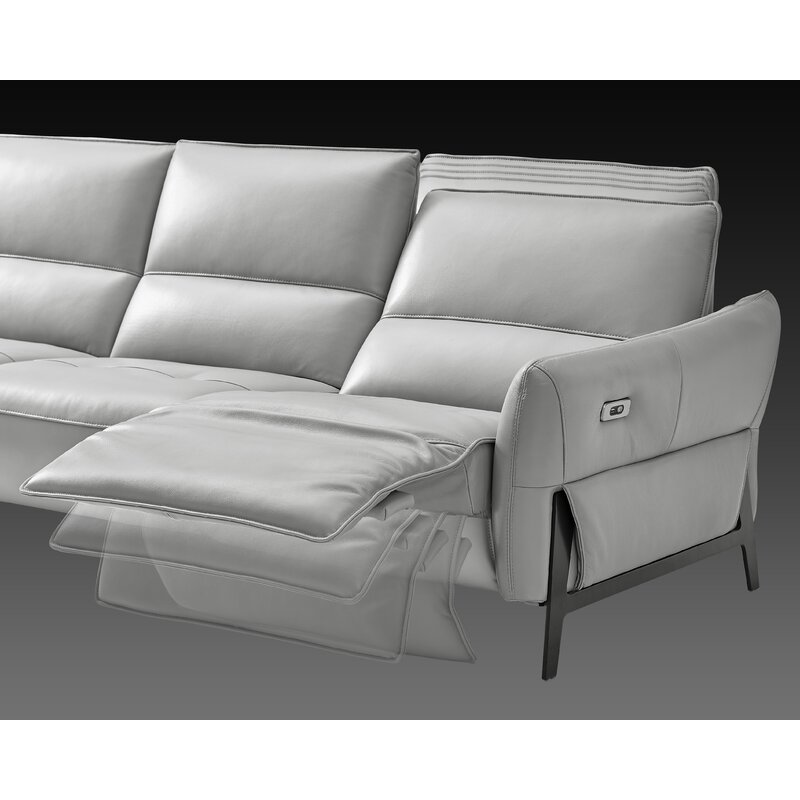 Branchdale Leather Reclining Sofa