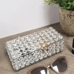Scarlette Yasmine Bling Jewelry Box ByHouse of Hampton