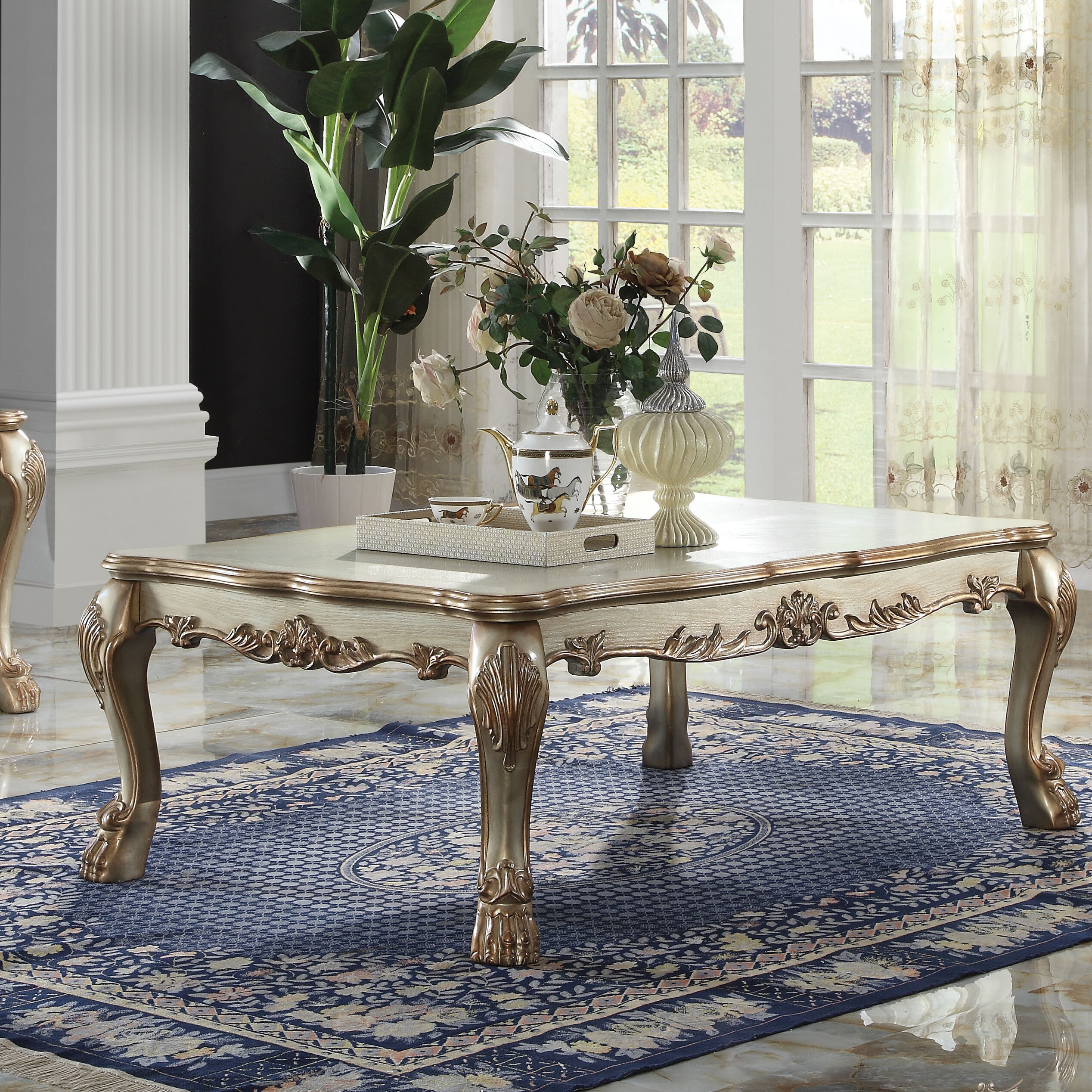- Astoria Grand Welliver Solid Wood Coffee Table & Reviews Wayfair