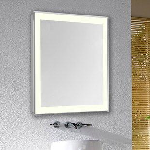 Latitude Run Mattias Edge Electric Bathroom/Vanity Mirror
