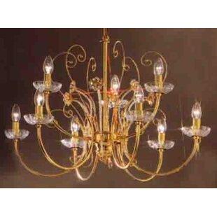 Classic Lighting Belleair 9-Light Chandel..