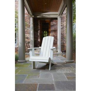 Malibu Plastic Adirondack Chair By Uwharrie Chair