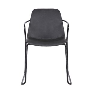 Alcide Upholstered Dining Chair (Set of 2) Wrought Studio