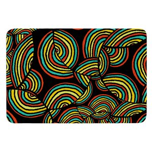 Infinite Depth by Pom Graphic Design Bath Mat