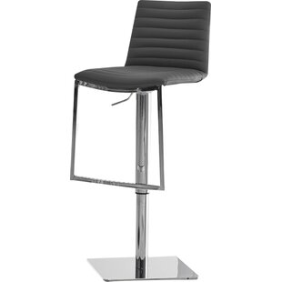 London Adjustable Height Bar Stool by Bel..