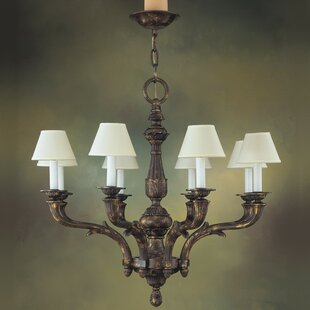 Zanin Lighting Inc. Zamora 8-Light Shaded Chandelier