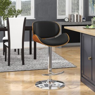 Brennan Adjustable Height Swivel Bar Stool