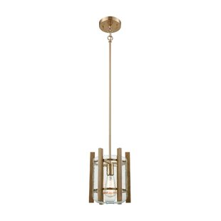 Rosecliff Heights Belaire 1-Light Drum Pendant