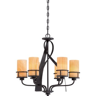 Read Reviews Colby 6-Light Shaded Chandelier By Loon Peak