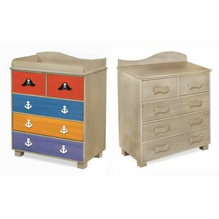 Pirate Pals 5 Drawer Chest by Room Magic