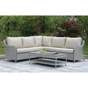 Artemis 2 Piece Sectional Seating Group with Cushions