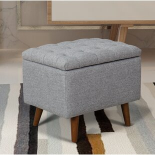 Dietz Tufted Storage Ottoman by George Oliver