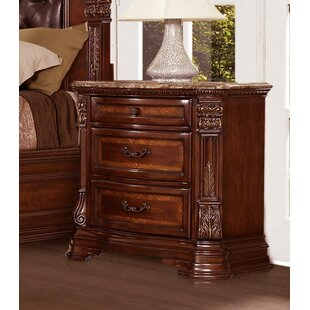 Fultz 3 Drawer Nightstand by Astoria Grand