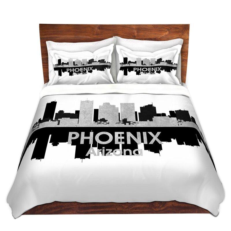East Urban Home City Iv Phoenix Arizona Duvet Cover Set Wayfair