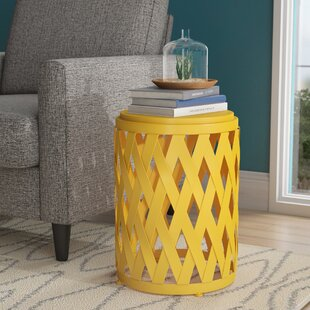Ramiro Modern Indoor Iron End Table by Wrought Studio
