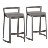 Gary 28 Bar Stool (Set of 2) by Wade Logan®