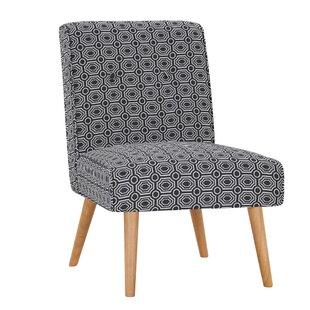 Hilary Button Tufted Slipper Chair