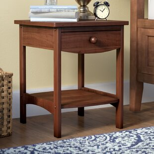 Searching for Carlton 1 Drawer Nightstand ByAndover Mills