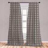 Lattice Curtains Wayfair