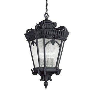 Fleur De Lis Living Guzzi 4-Light Outdoor Hanging Lantern