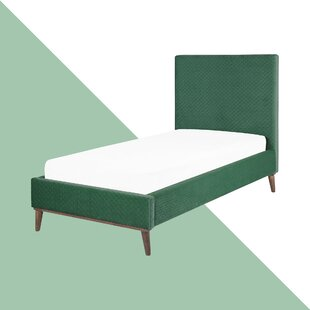Casares Upholstered Bed Frame By Hashtag Home