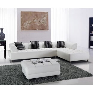 Read Reviews Litz Sectional by Hokku Designs Reviews (2019) & Buyer's Guide