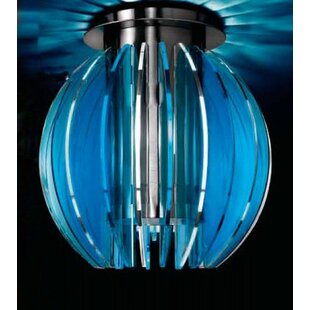 Blue ceiling flush lights wayfair save to idea board mozeypictures Image collections