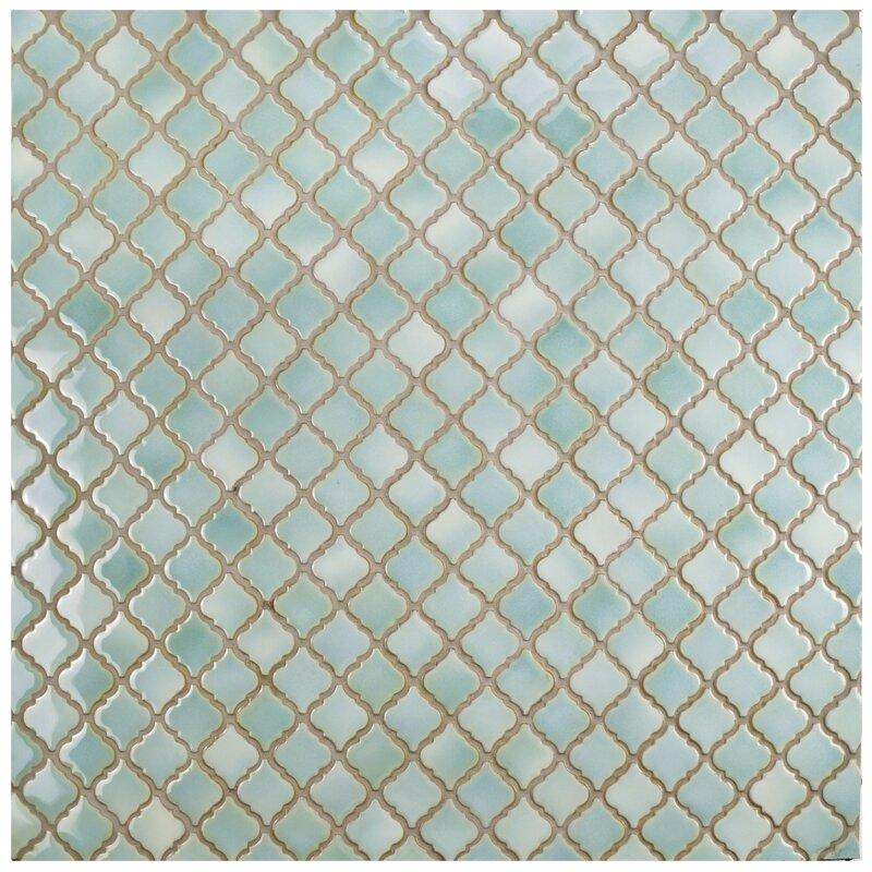 EliteTile Pharsalia 1238 x 125 Porcelain Mosaic Floor and Wall