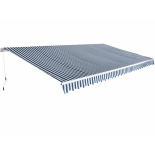 W 6 X D 3m Retractable Patio Awning By Symple Stuff