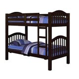 Dipama Twin over Twin Bunk Bed by Harriet Bee