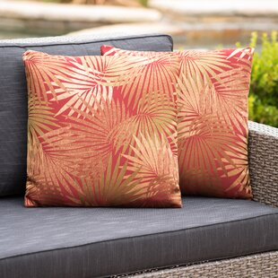 Brookridge Square Outdoor Throw Pillow (Set of 2)