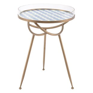 Sarvis Round End Table by Lati..