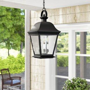 Inexpensive Darrah 4-Light Outdoor Hanging Lantern By Three Posts