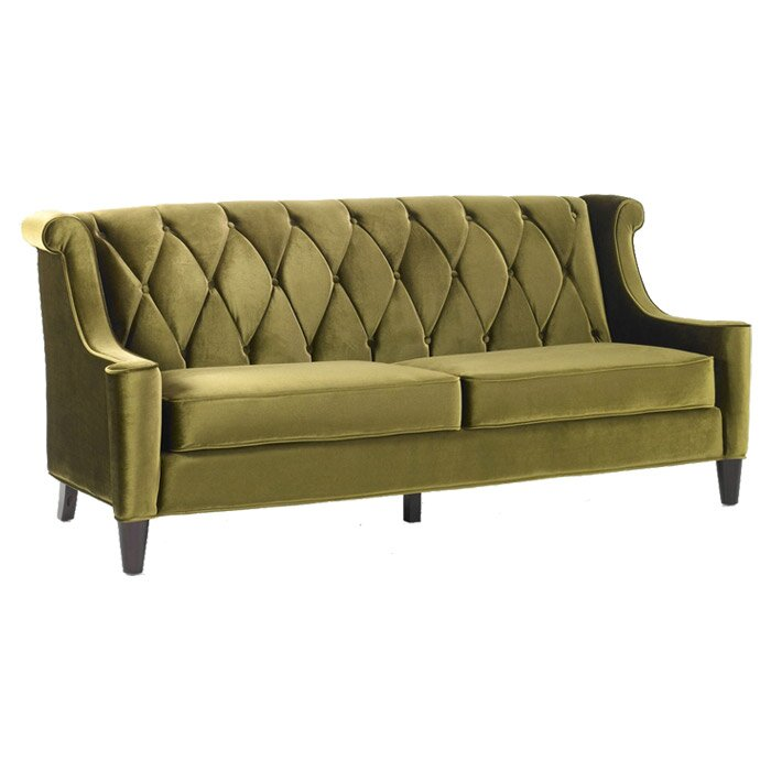 Velvet Sofa willa arlo interiors carressa velvet sofa & reviews | wayfair