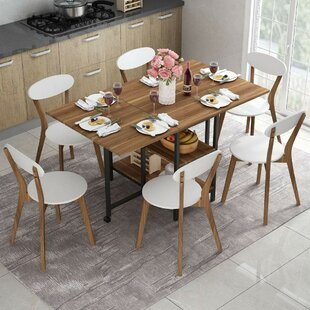 Oklee Drop Leaf Dining Table by Wrought Studio