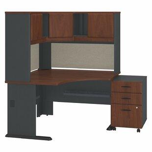 Bush Business Furniture Series A 3 Piece Corner Desk Office Suite